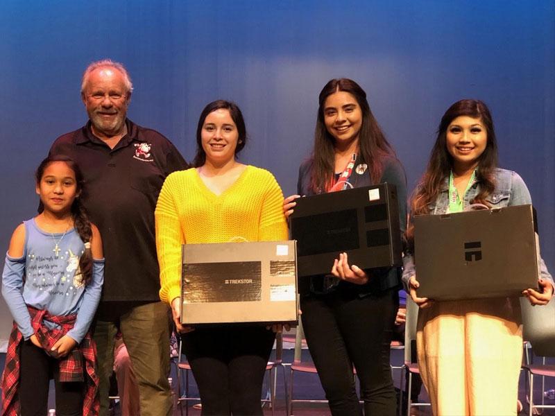 Santa to the Sea 2018 Scholarship winners